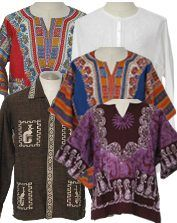 1960-70 men's Hippie shirts -Vintage Wear for the Groom
