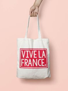 VIVE LA FRANCE tote bag #empowered #feminist #activist #resist #rise #womensrights #blm #enough #timesup #metoo #smashthepatriarchy #humanrights #giftforher #giftforteen #giftforwomen #totebag