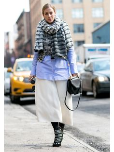 People @ New York Fashion Week a/w 2015   ELLE