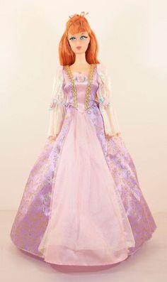 Barbie as Rapunzel Dress