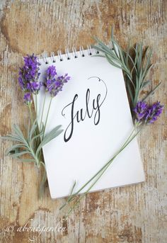 event, garden, craft and pleasure Seasons Months, Days And Months, Seasons Of The Year, Months In A Year, New Month Wishes, Welcome July, Hello July, Lavender Fields, Bullet Journal