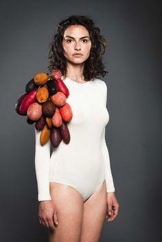 #16 hidden beauty - inner skins - by Studio Gutedort (textile designers Eva Schlechte and Jennifer Hier. )