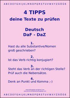 Deutsch lernen - Personalendungen - YouTube   Deutschlernen ...