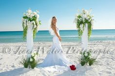 Www.sunhippieweddings.com Get married on the beach in Destin, Panama City or Pensacola Florida! 850-737-0469