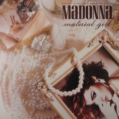 Purchase the original 1985 vinyl pressing of Material Girl, the second single off Madonna's second album Like A Virgin. Browse our large selection of Madonna albums and singles on vinyl at Voluptuous Vinyl Records! 45 Records, Rare Vinyl Records, Vintage Records, Madonna Albums, Madonna 80s, Madonna Music, Madonna Material Girl, Material Girls, Music Covers