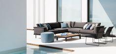 Natal Alu Sofa, outdoor sofa in aluminium