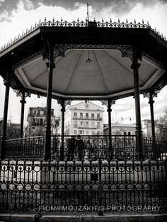 the bandstand - Corfu town park Corfu Town, Corfu Island, Visit Greece, Corfu Greece, Greece Islands, Famous Places, Small Island, Black And White Photography, Wonders Of The World