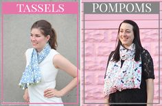 DIY Lilly Pulitzer Target Scarf - How To-sday