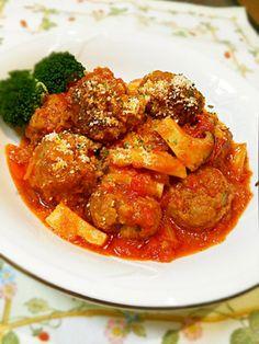 ふんわり肉団子のトマト煮♡ by はらぺこあゆ 【クックパッド】 簡単おいしいみんなのレシピが289万品