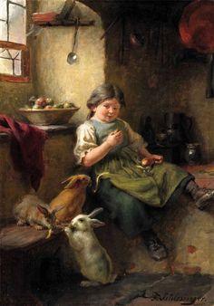 FELIX SCHLESINGER GERMAN (1833 1910)