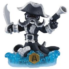 Skylanders Swap Force - Dark Wash Buckler (Swappable-Climb) [Water] Character