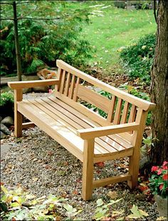 Japanese Garden Bench Project Plan