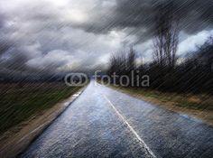Quadro Canvas <br> (Rain)