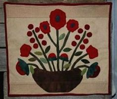 A Woolie Basket of Flowers