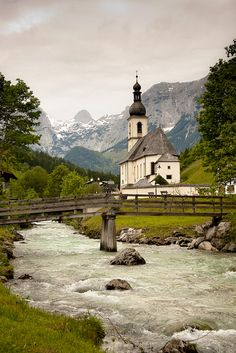 Ramsau - Germany - maybe I will get to visit my son while he is in Germany and see this?!/!