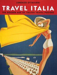 Cesenatico Italy Italia Seahorse Vintage Travel Advertisement Art Poster Print