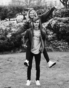 Sugg Life - Joe and Zoe Sugg - piggyback