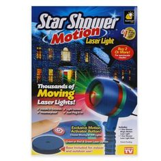 star shower laser light with motion - Rite Aid Christmas Lights