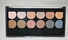 UNDRESSED palette by MUA