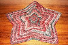 Crochet  X-MAS STAR  http://wollfadenwelt.blogspot.co.at/