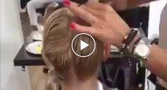Cabeleireira Usa Bizarra Técnica Para Fazer Corte De Cabelo, Mas o Resultado é Surpreendente http://www.funco.biz/cabeleireira-usa-bizarra-tecnica-corte-cabelo-resultado-surpreendente/