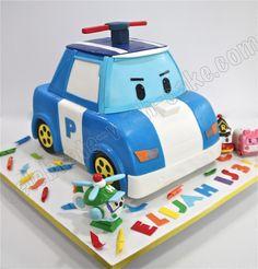 Celebrate with Cake!: Sculpted Robo Poli Cake