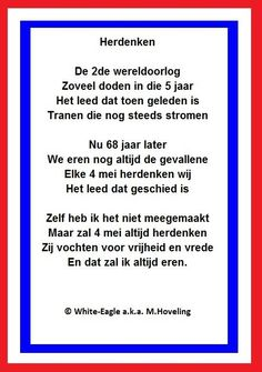 Dodenherdenking Netherlands Country, Lest We Forget, All I Want, World War Two, Friends Forever, Picture Quotes, Holland, 5 Mei, Marilyn Monroe