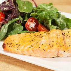 While the smoky flavor may be the top reason to grill salmon, the quick prep time is also a benefit. You can season and grill salmon fillets or steaks in about 30 minutes. Plus, heart-healthy grilled salmon is packed with pro/