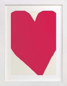 Girls' Room >> Big Heart by Jorey Hurley at minted.com