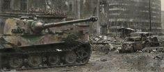 Tiger Tank in Berlin.