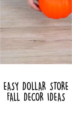 Dollar Tree Decor, Dollar Tree Crafts, Autumn Crafts, Holiday Crafts, Thanksgiving Decorations, Dollar Stores, Fall Decor, Diy And Crafts, Dyi