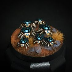 Warhammer 40k Necrons, Warhammer Models, Warhammer 40k Miniatures, Warhammer Fantasy, Necron Army, Mini Paintings, Miniture Things, Color Schemes, Inspiration Tattoos