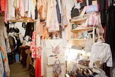 love boutiques like these Wardrobe Rack, Thrifting, Booth Ideas, Interior Design, Retro, Antiques, Design Ideas, Display, Shopping