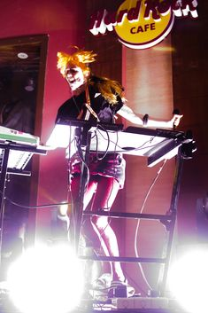 Grimes at Hard Rock Cafe, Makati, Philippines, March 14, 2013 by Peter Tolibas