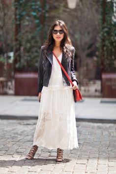5 chic ways to wear lace this summer. Photos by Melodie Jeng