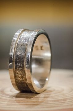 Sterling silver spinner ring for men Spinner Rings, Rings For Men, Jewelry Making, Wedding Rings, Engagement Rings, Sterling Silver, Handmade, Unique, Enagement Rings