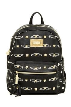 Betsey Johnson | Studded Signature Mini Backpack | Nordstrom Rack