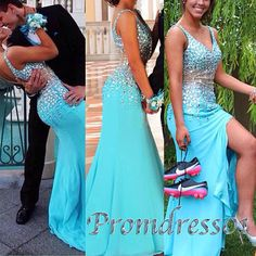 2015 gorgeous sparkly prom dress
