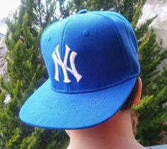 Snap back hat,NY,Cap embroidery, Caps,Snap back cap,embroidery,machine embroidered,NY logo on snap back hat for boys by NeedleArtGR on Etsy