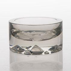 Tapio Wirkkala - Art glass bowl (diam. 11,5 cm h. 6 cm) for Iittala, Finland.