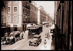 Rua da Prata ,Antiga Rua Bela da Rainha. (1930)  Fotógrafo: desconhecidoA.N.T.T - Arquivo do Jornal O Século