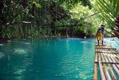 22. The Blue Lagoon is a thing that exists. | 25 Ways A Trip To Jamaica Will Make You A Happier Person