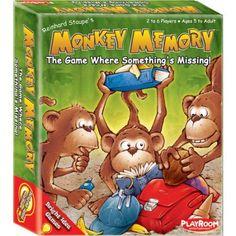 Monkey Memory Multi-Colored, Multicolor
