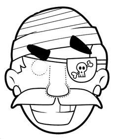 Masks coloring - chantalou1607eden.eklablog.com