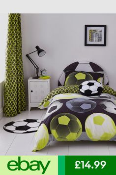 Bedding From Asda Ideas For Naths Room Pinterest Duvet Football Rooms And Bedrooms