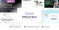 LOOR – One Page AJAX E-commerce WordPress Theme