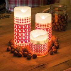 1000 images about led kerzen on pinterest led candles and led candles. Black Bedroom Furniture Sets. Home Design Ideas