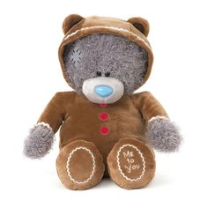 """G01W4233 Me to You Tatty Teddy Bear 10"""" 25cm Gingerbread Man Rare Plush Unboxed  #MetoYou"""