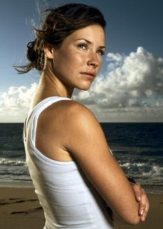 Kate Austen (Evangeline Lilly) from ABC's LOST