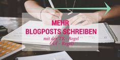 Schneller Besser Blogposts schreiben